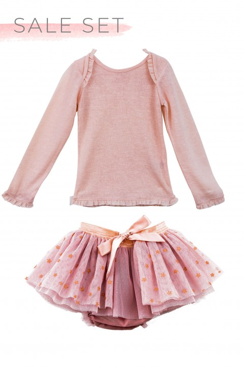 Ruffle Tee & Maxie Skirt